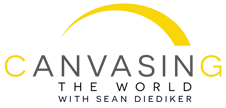 Canvasing The World Logo